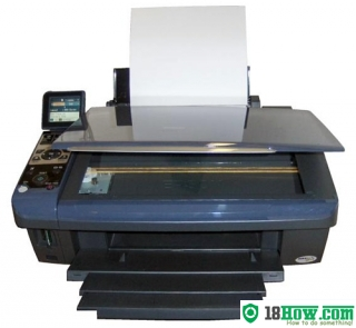 How to Reset Epson DX8400 printer – Reset flashing lights problem