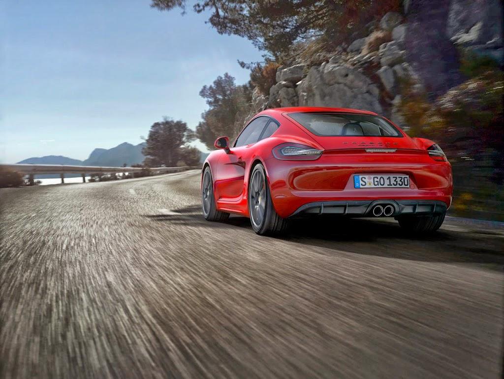 Porsche Cayman GTS 2