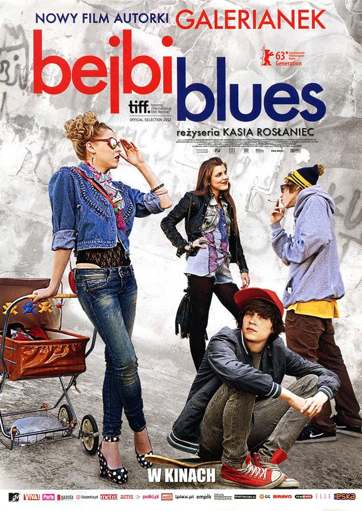 Ulotka filmu 'Bejbi Blues (przód - wersja B)'
