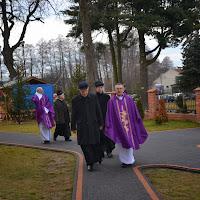 7.01.2014 r. Pogrzeb ojca ks. Bogusława