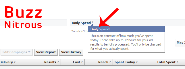 Facebook Ads Cost: Daily Estimate Spent