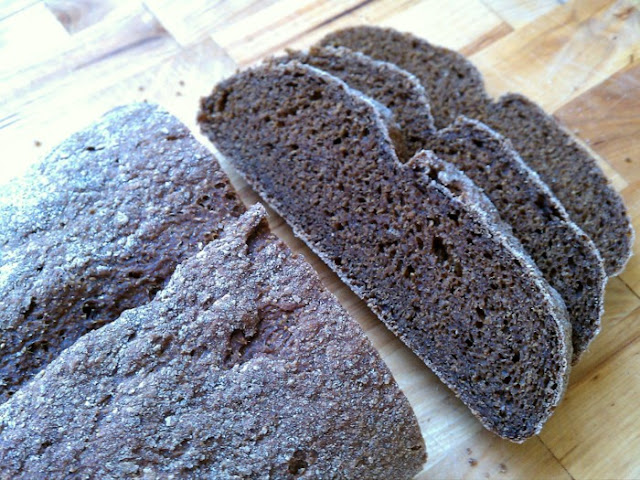 how to make dark rye bread