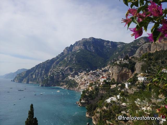 Positano in Amalfi Coast, Italy