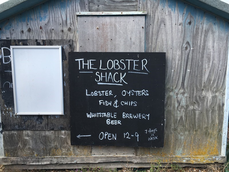 The Lobste Shack, Whitstable Harbour