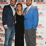 WWW.ENTSIMAGES.COM -   Dany Dyer, Dani Dyer and Jonathan Sothcott   arriving at      We Still Kill The Old Way - private film screening at The Ham Yard Hotel, London September 29th 2014Private screening of forthcoming film about a group of former 1960s gangesters who come out of retirment to take on a group of youths after one of their number is murdered.                                                 Photo Mobis Photos/OIC 0203 174 1069