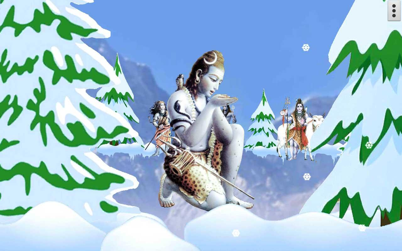 4d shiva live wallpaper android apps on google play