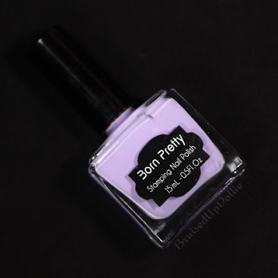 Born pretty store purple stamping polish