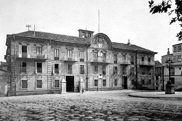 Siglo XIX. Edificio de la antigua Capitanía General.