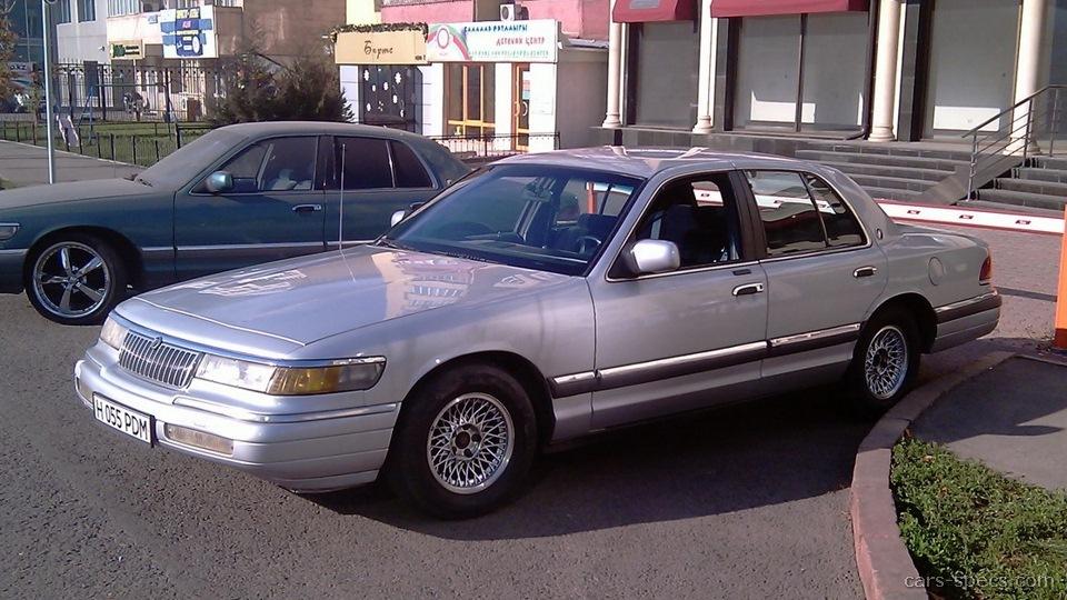1992 Mercury Grand Marquis Sedan Specifications  Pictures