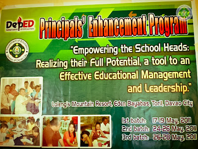 Principals Enhancement Program