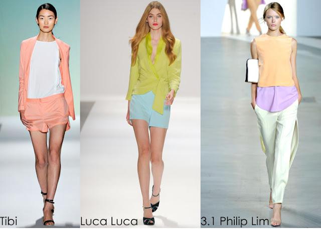 Inspected Trend Pretty Pastel Spring 2012 Tibi Luca Luca Philip Lim