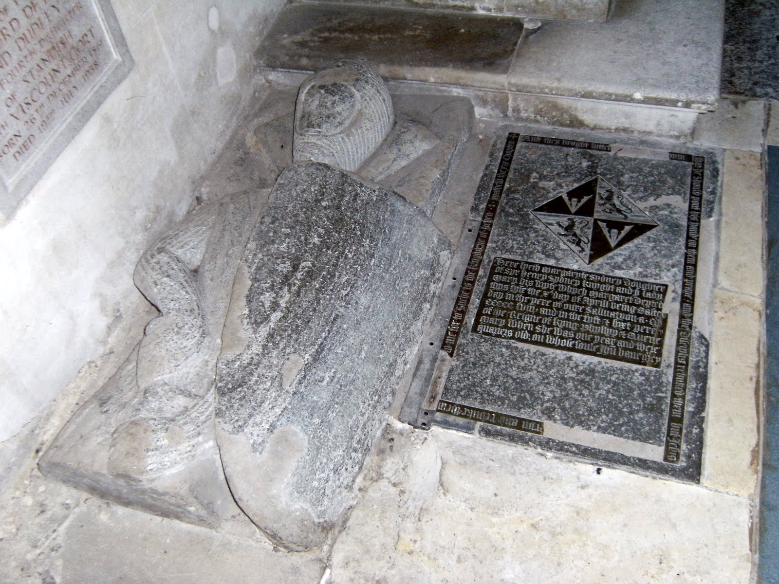 1005300139 Sidney Chapel memorial, St John the Baptist Church, Penshurst