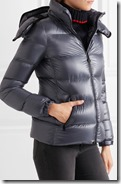 Moncler Metallic Shell Down Jacket