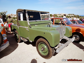 Old SWB Land Rover