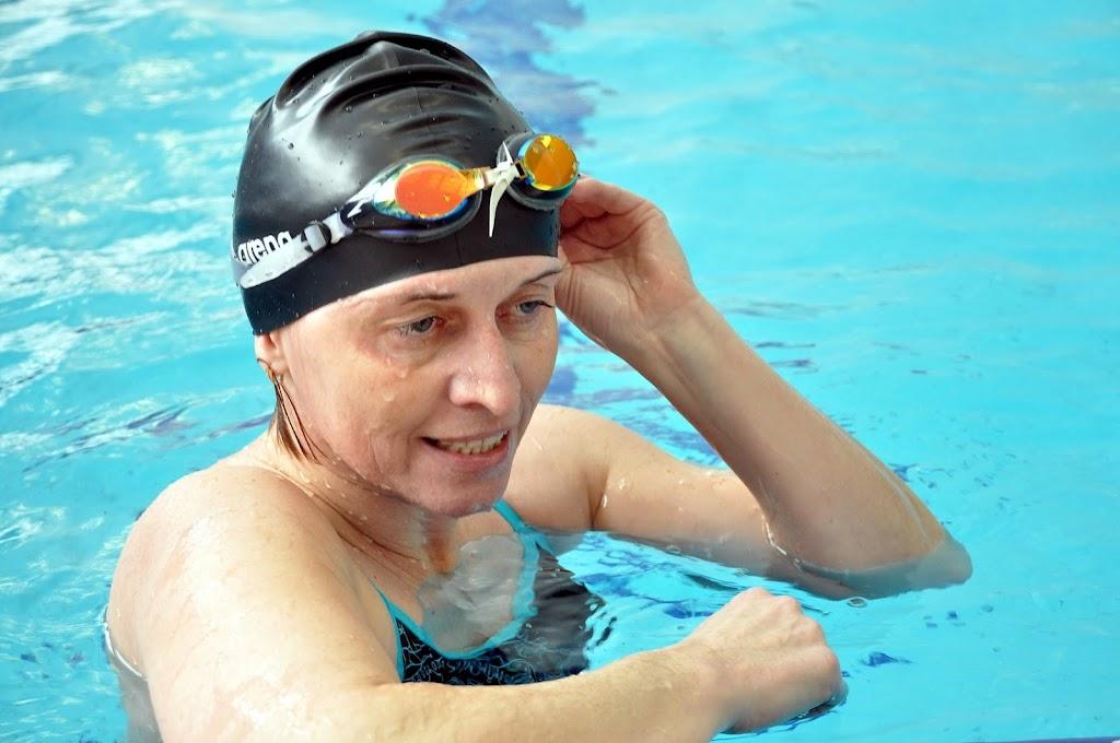 Н.Аносова (ЧГРЭС) - заняла 3 место по плаванию.