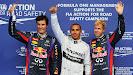 2013 Belgian qualifiers: 1. Hamilton 2. Vettel 3. Webber