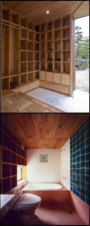 rak 03 Rumah Berkonsepkan Rak Buku di Jepun