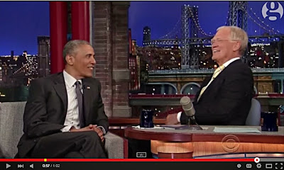 Obama on Letterman: Minorities don't trust the police