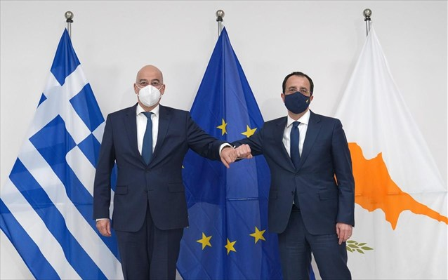 Κύπρος - Ν. Δένδιας: Εγκάρδιες οι σχέσεις με την Αίγυπτο, στόχος μνημόνιο με τον Αραβικό Σύνδεσμο