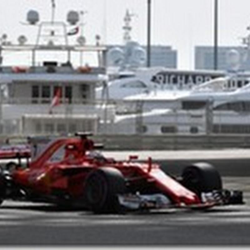 Test Abu Dhabi: Raikkonen è il più veloce nella prima giornata