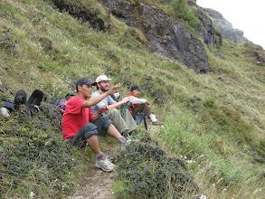 Photo: Karma Sherpa, Chad, Pasang Sherpa