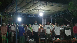 Masyarakat di 3 Desa Gaungkan Takbir Untuk Kemenangan Fadhil- Bakhtiar