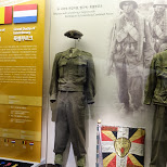 Belgium and Luxembourg gear used in the Korean War in Seoul, Seoul Special City, South Korea