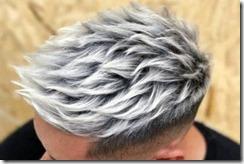 Platinum fire mens hair color