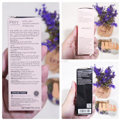 Review Pixy Stay Last Serum Foundation