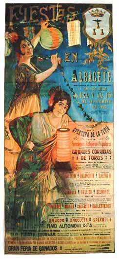 Cartel Feria Albacete 1916