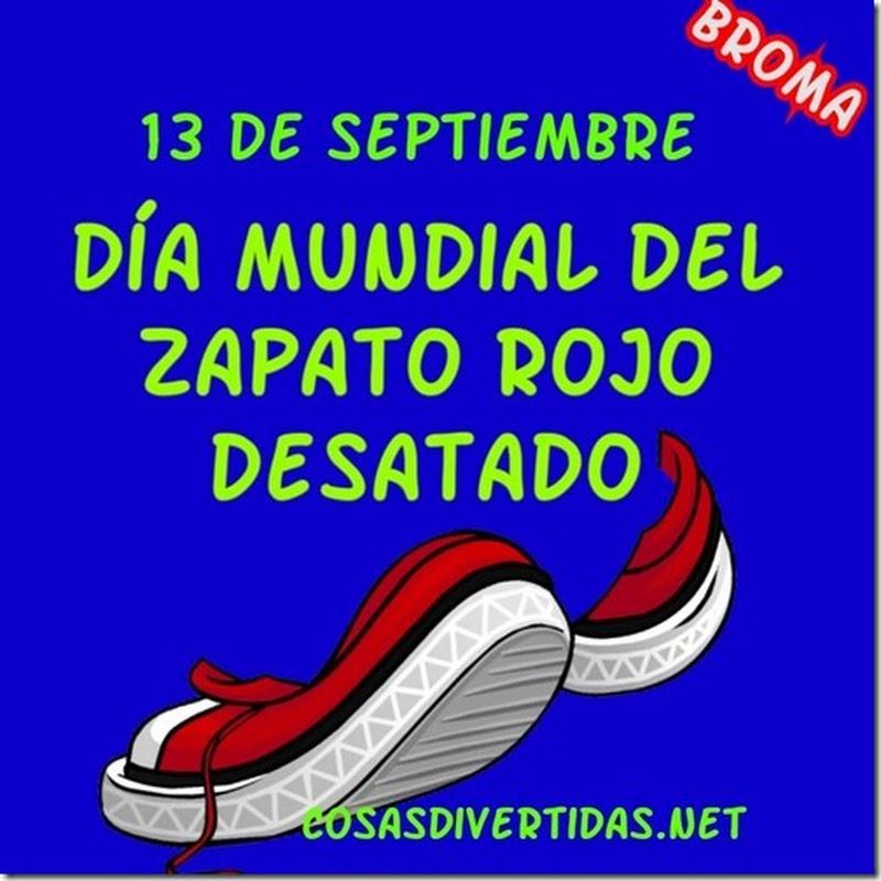 Dia Mundial del zapato rojo desatado