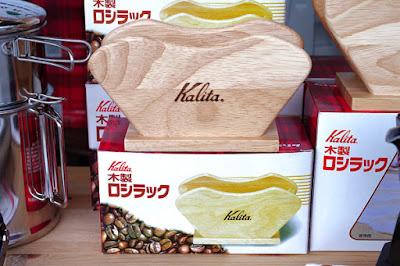 BanCa野田店:コーヒー器具セール:Kalita 木製ロシラック