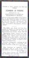 Monde-Le Febvre, Joanna 09-01-1935 Bidprentje .jpg