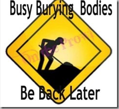 burying bodies