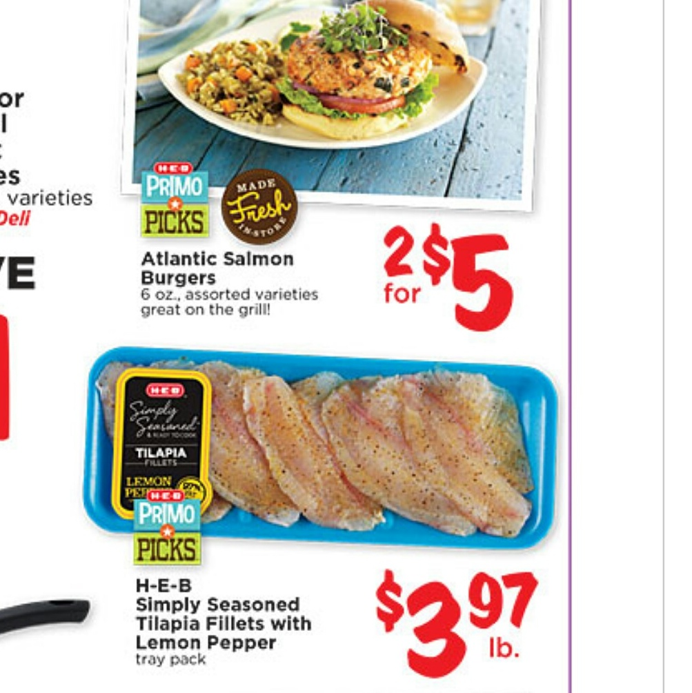 photo about Heb Printable Coupons identified as Melissas Coupon Savings: HEB~ Fresh Seafood Printable Discount codes!