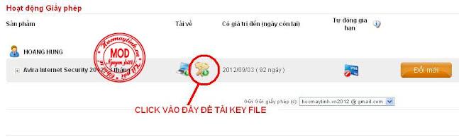 Khuyến mãi Avira Internet Security với key 3 tháng từ nhà sản xuất AVIRA+3