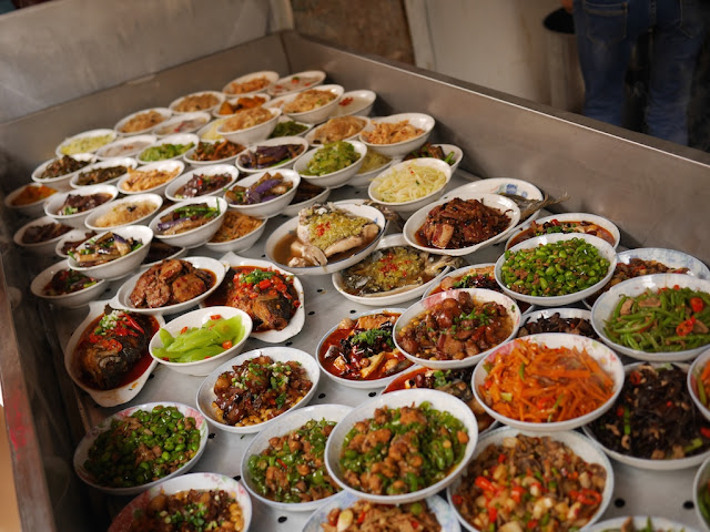 Liuyang-style steamed dishes in Changsha, Hunan