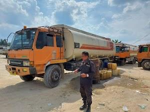 Tim Krimsus Tangkap Truk Derek Berkapasitas Tangki 450 Liter, Langsir BBM Subsidi Untuk Kebutuhan Industri