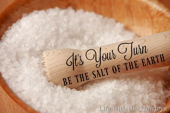 Its Your Turn Be the Salt of the Earth- Life with the Hawleys