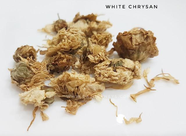 Manfaat dan Khasiat white chrysan