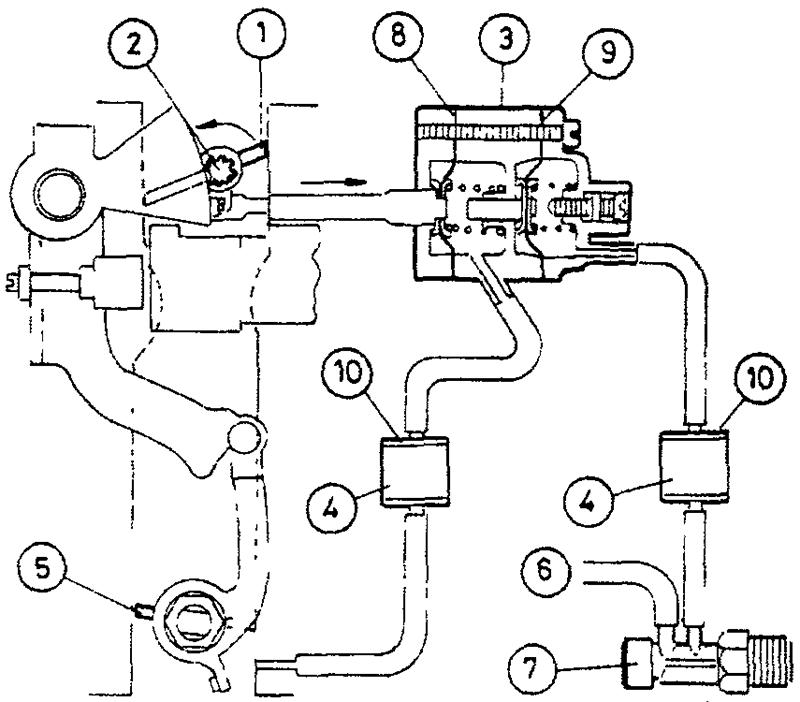 Схема автоматического пускового устройства - двухпозиционная система