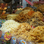 dried seafood in Kaohsiung in Kaohsiung, Kao-hsiung city, Taiwan