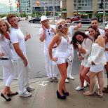 sensation canada troops on the street corner in Toronto, Ontario, Canada