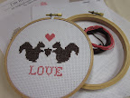 Chez Sucre Chez sells these as kits or already completed- you choose! http://www.etsy.com/listing/76109394/squirrelly-love-cross-stitch-kit