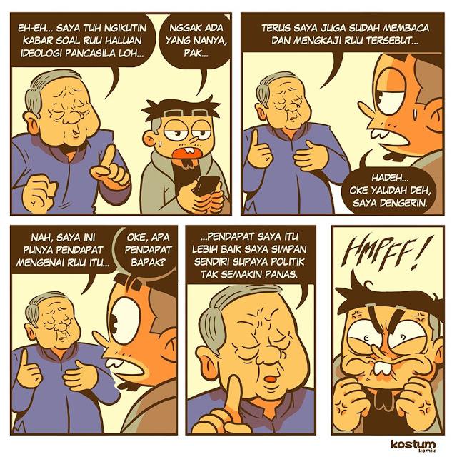 BREAKING NEWS : Komik SBY Bikin Gregetan, yang Tersisa dari RUU Pancasila