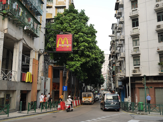 McDonald's on Rua de Coelho do Amaral in Macau
