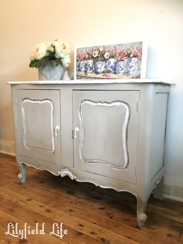 vintage french painted sideboard Lilyfield Life