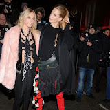 OIC - ENTSIMAGES.COM - Mary Charteris and Poppy Delevingne at the YSL Loves your Lips party at the Boiler House London 29th January 2015