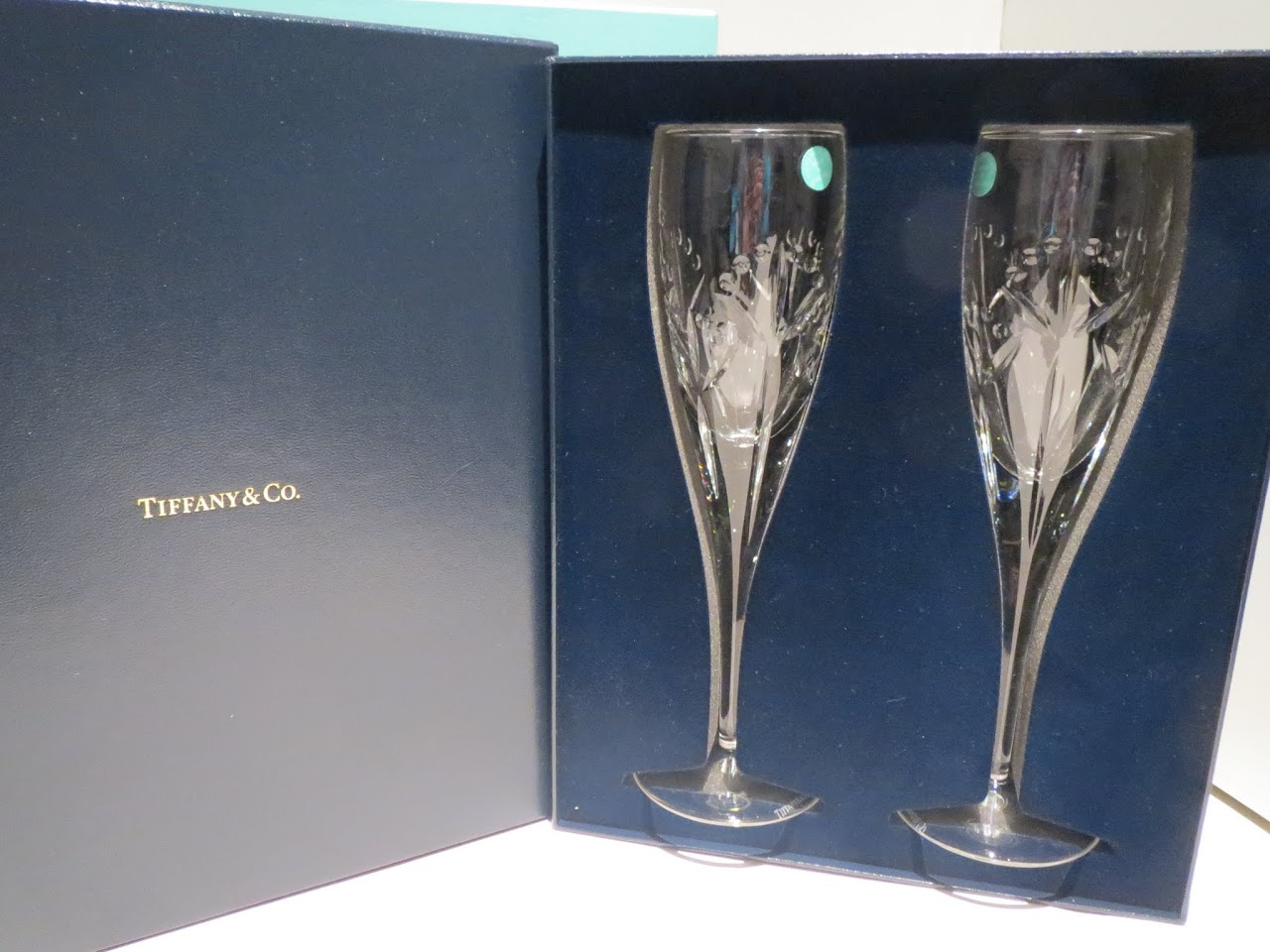 Tiffany & Co. Champagne Flutes