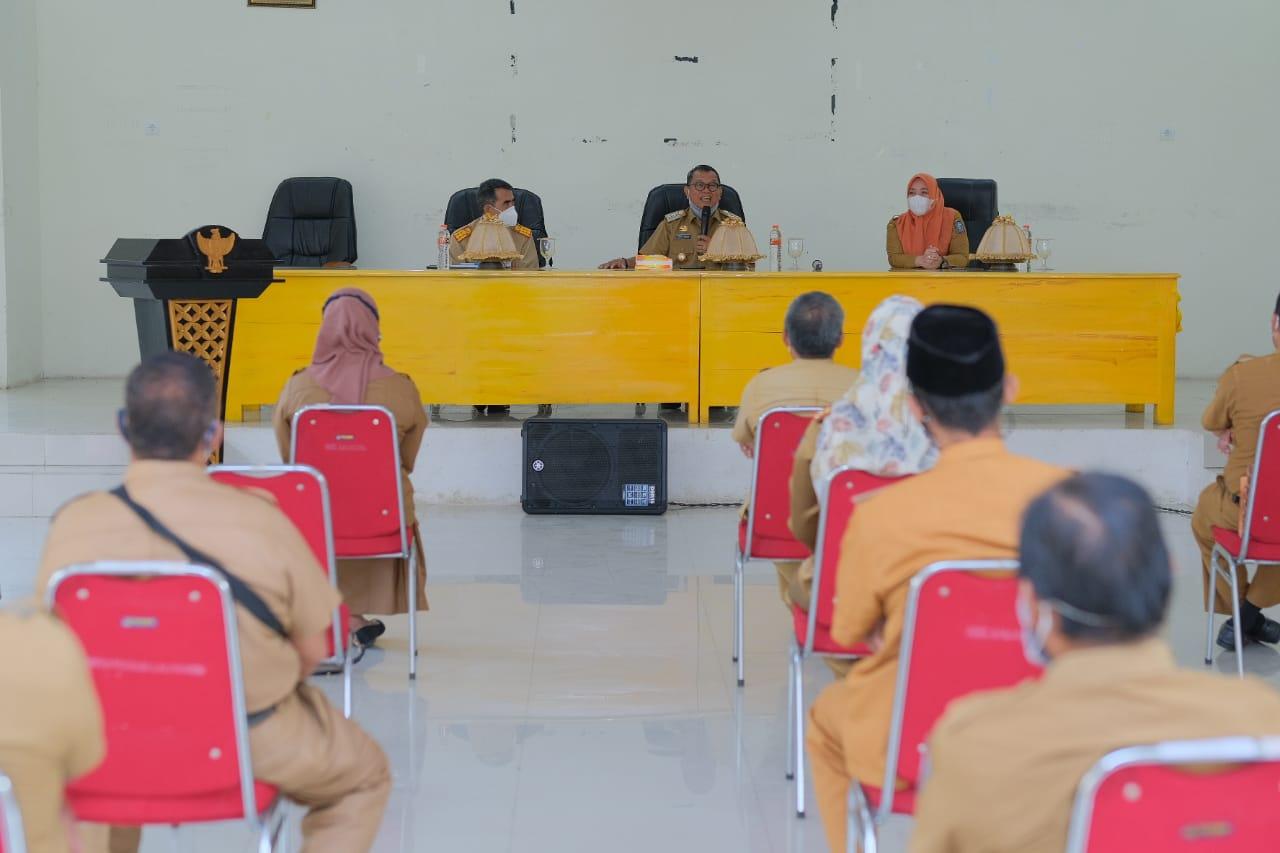 Wakil Bupati Soppeng Gelar Kunjungan Kerja di Kantor Kecamatan Lalabata